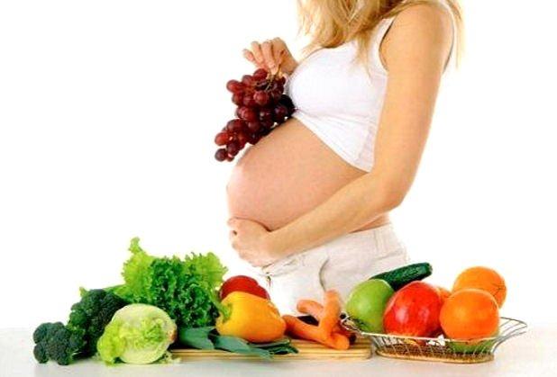 კვება ორსულობის დროს