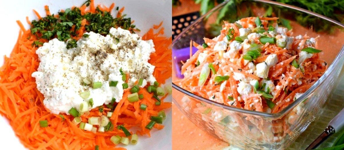 ვიტამინებით სავსე სტაფილოს სალათა - სასარგებლო და გემრიელი