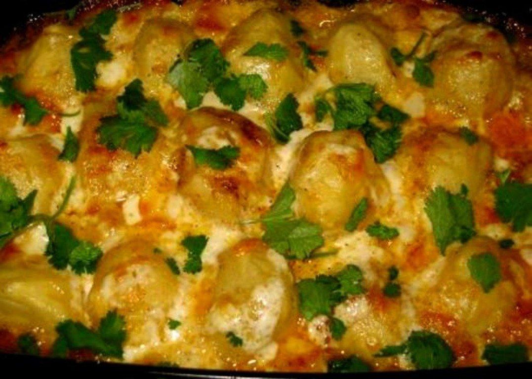 არაჩვეულებრივი იდეაა ოჯახური სადილისთვის, ნოყიერიცაა და ძალიან გემრიელიც.